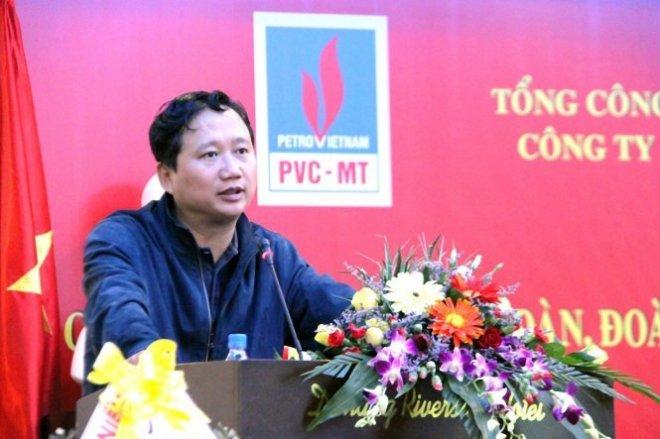 Ông TrËnh Xuân Thanh,thÝi kì làm Bí th° £ng çy, Chç tËch HQT TÕng công ty CÕ ph§n Xây l¯p D§u khí ViÇt Nam (PVC) . ¢nh PVC-MT